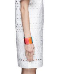 Valentino | Multicolor '1973' Plexiglass Cuff | Lyst