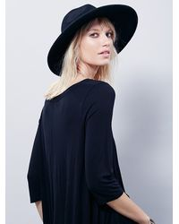 Free People - Black Fp X Meadowlands Top - Lyst
