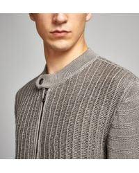 Belstaff - Gray Naunton Cardigan for Men - Lyst