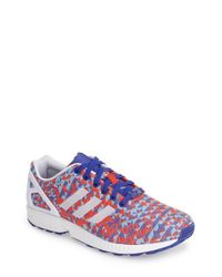 Adidas | White 'Zx Flux Weave' Sneaker for Men | Lyst