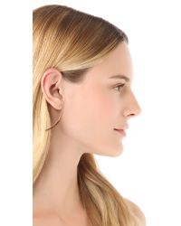 Kristen Elspeth - Metallic Arc Post Earrings - Lyst