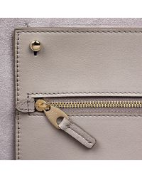 Smythson - Gray East West Zip Tote - Lyst