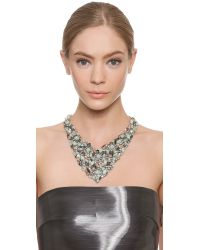 Jenny Packham - Green Crysolite Necklace - Pale Jade - Lyst