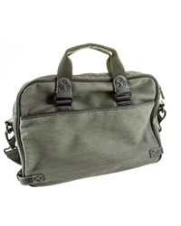 Andrew Marc - Brown Rivington Twill Top Handle Brief for Men - Lyst