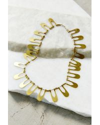 Better Late Than Never - Metallic Aten Collar Necklace - Lyst