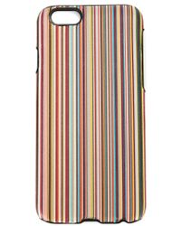 Paul Smith - Multicolor Striped Iphone 6 Cover - Lyst