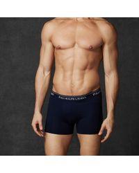 Polo Ralph Lauren - Multicolor Stretch-cotton-trunk 3-pack for Men - Lyst
