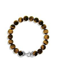 David Yurman - Metallic Spiritual Bead Bracelet, 10Mm for Men - Lyst