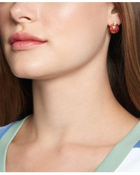 Brooks Brothers | Red Ladybug Earrings | Lyst