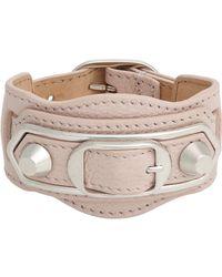 Balenciaga | Pink Ligne Classic Bracelet | Lyst
