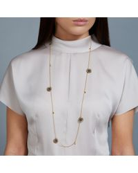 Astley Clarke | Metallic 18ct Gold Vermeil Long Calypso Woven Nugget Necklace | Lyst