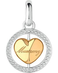 Links of London - Metallic Yummy Mummy 18ct Gold-plated Heart Charm - Lyst