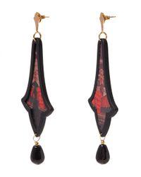 Anna E Alex - Red Citta D'arte Earrings - Lyst