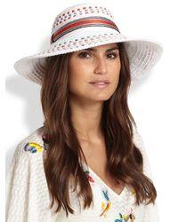 Missoni - Multicolor Wide-Brim Hat - Lyst