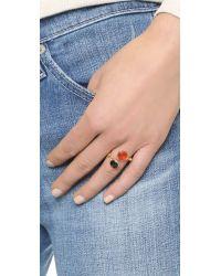 Gas Bijoux - Multicolor Duality Serti Ring - Lyst