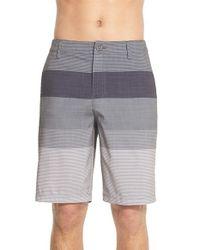 Rip Curl - Black 'mirage Classics Boardwalk' Colorblock Shorts for Men - Lyst