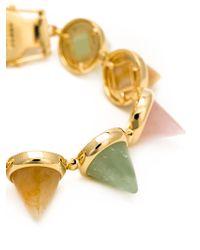 Eddie Borgo | Metallic Cones Bracelet | Lyst
