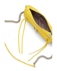 Rebecca Minkoff | Yellow Mini M.a.c. Crossbody | Lyst
