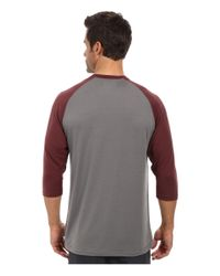 New Balance | Purple 3/4 Raglan for Men | Lyst