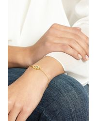 Pippa Small Metallic 18-Karat Gold Multi-Stone Bracelet