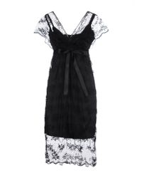 Adele Fado - Black Short Dress - Lyst