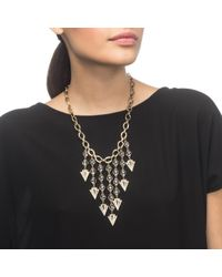 Lulu Frost - Metallic Istria Statement Necklace - Lyst