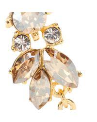 Ben-Amun - Metallic Crystal-Embellished Earrings - Lyst