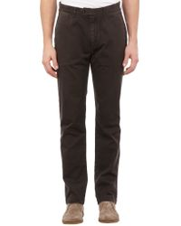 Jack Spade - Gray Twill Chinos for Men - Lyst