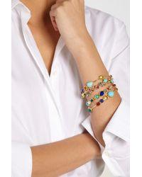 Ippolita - Metallic Gelato Kiss 18karat Gold Multistone Bracelet - Lyst