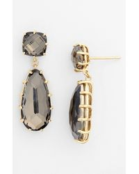 KALAN by Suzanne Kalan | Black Drop Earrings | Lyst