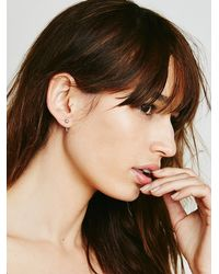 Free People | Metallic Thron Tusk Ear Jacket | Lyst