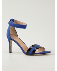 Marc By Marc Jacobs - Blue Stiletto Sandals - Lyst