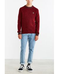 Stussy | Red Donegal Sweater for Men | Lyst