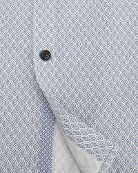 Ted Baker | Blue Pow Micro Swirl Print Shirt for Men | Lyst