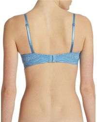 Calvin Klein | Blue Infinite Lace Multi Way Push Up Bra | Lyst