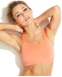 Wacoal | Orange Seamless Wireless Sports Bra 852243 | Lyst