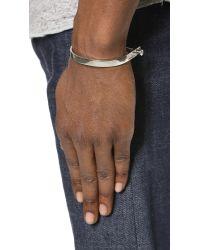 Miansai | Metallic Sterling Silver U Cuff for Men | Lyst