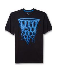 Nike - Blue Basketball Net Graphic Tshirt for Men - Lyst