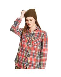 Denim & Supply Ralph Lauren | Red Plaid Rl Big Shirt | Lyst