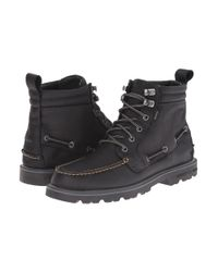 Sperry Top-Sider | Black A/o Lug Boot Wp for Men | Lyst