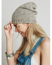 Free People | Natural Womens Hans Climber Beanie | Lyst