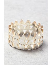 Forever 21 - Metallic Makko Stacked Arrow Ring - Lyst
