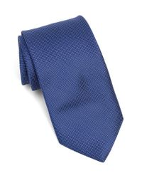 Michael Kors - Blue Microdot Silk Tie for Men - Lyst