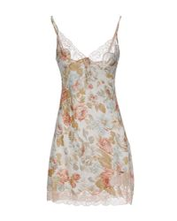 Twin Set - Natural Nightgown - Lyst