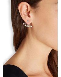 Ca&Lou - Metallic Pixie Silver Plated Swarovski Earrings - Lyst