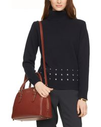 kate spade new york - Brown Brighton Park Small Felix Leather Satchel - Lyst