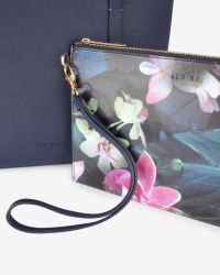 Ted Baker - Blue Crosshatch Leather Shopper Bag - Lyst