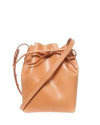 Mansur Gavriel - Natural Small Leather Bucket Bag - Lyst