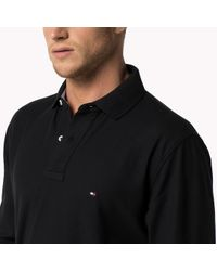 Tommy Hilfiger | Black Performance Regular Fit Polo for Men | Lyst