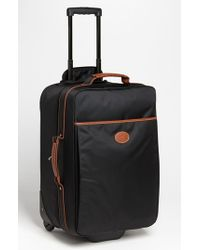 Longchamp | Black 'le Pliage' Wheeled Carry-on | Lyst